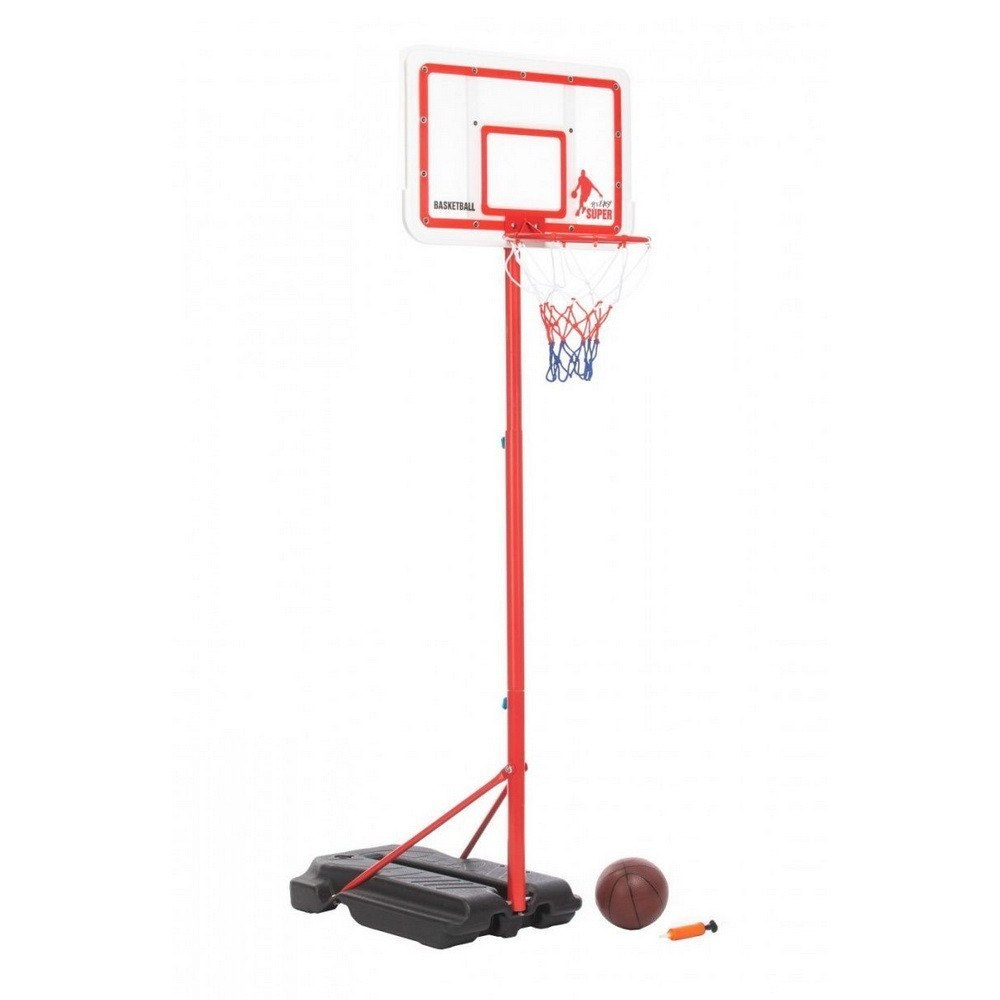 Купить Стойка баскетбольная с регулируемой высотой, Подвижные игры