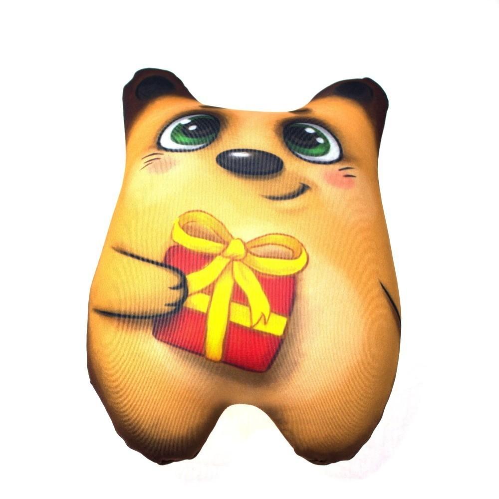 Мягкая игрушка-антистресс - Мишка с сердечком фото