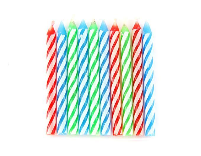 Незадуваемые свечи для тортаРозыгрыши<br>Все любят задувать свечки на тортах. Но не тут-то было! Эти свечки загораются снова и снова, и как загадать заветное желание? Удивляйте ваших друзей и детей незадуваемыми свечками для торта! Экологически безопасно.<br>