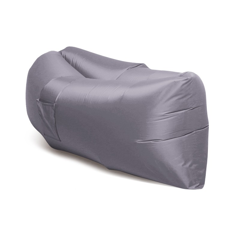 Надувной диван Биван - гамак Ламзак, светло-серыйРазное для туриста<br>Надувной диван - гамак Ламзак – это изобретение, которое подарит вам часы релакса дома, в офисе, на даче, на природе и в любых других условиях. Эта модель завоевала мир. Надувается диван-шезлонг самостоятельно всего за 14 секунд, а главное – отличается своей прочностью и удобством!<br>