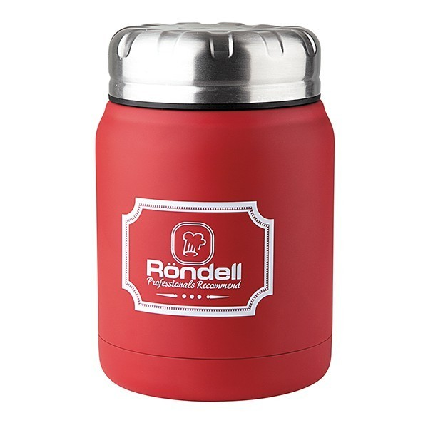 Термос для еды 0,5 л Red Picnic Rondel 941-RDSТермосы<br>Новинка от Rondell - Термосы для еды серии Picnic<br>Термосы представлены в 4х цветах, изготовлены из высококачественной стали 18/10, что благоприятно влияет на долгосрочность использования изделия.<br>