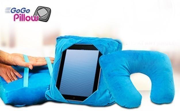Подушка для планшета 3 в 1 GoGo Pillow фото