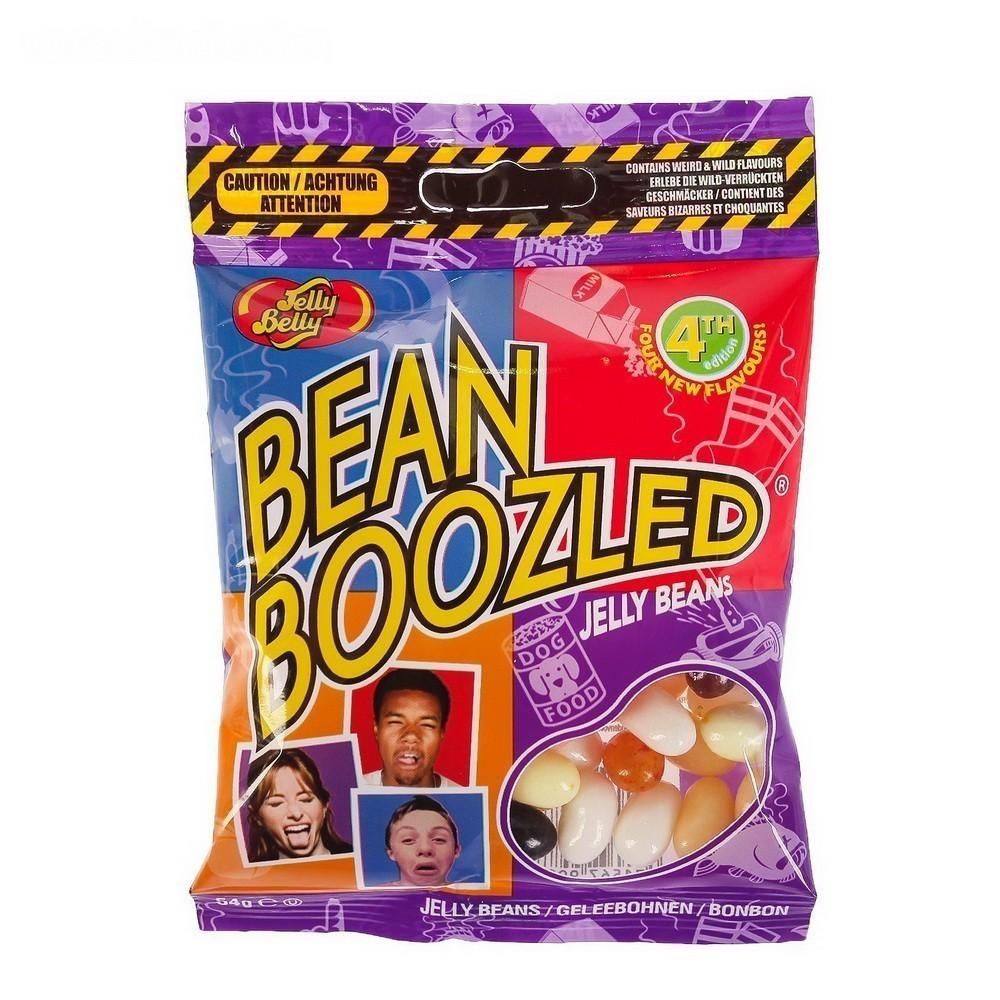 Драже Jelly Belly Bean Boozled, 4ая серия, 54 гЖвачка и драже<br>Драже Jelly Belly Beanboozled, 4ая серия, 45 г – это лакомства, которые завоевали весь мир. Если вы хотите провести вечер в кругу друзей с морем смеха и неожиданных эмоций, Посмотрите! Таких вкусов конфет вы даже представить себе не могли!<br>