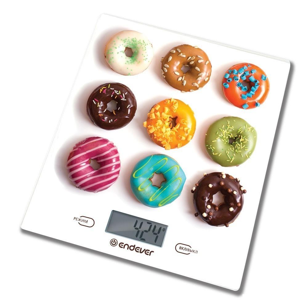Электронные весы Endever Skyline KS-521 до 5 кгКухонные весы<br>Кухонные весы Endever KS-521 подойдут для любой кухни. Они предназначены для точного взвешивания ингредиентов и продуктов, что будут использованы в приготовлении блюд.<br>