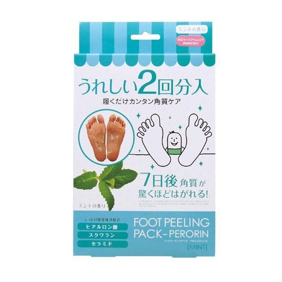 Японские педикюрные носочки Sosu, аромат мяты