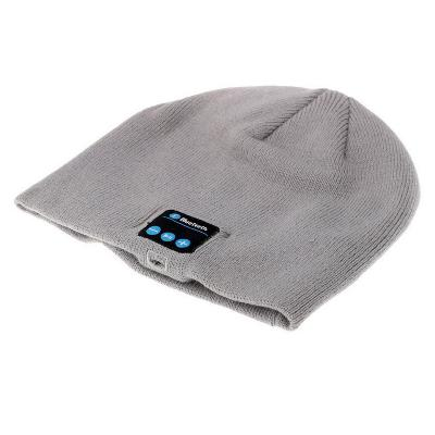 Bluetooth шапка, серая