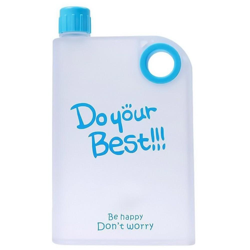 Бутылка для воды-фляжка NotebookPortable Cup, 380 млФляжки и канистры<br>Бутылка для воды-фляжка NotebookPortable Cup, 380 мл – яркий и стильный аксессуар, который пригодится вам в повседневной жизни. Бутылка для воды утолит вашу жажду в любых условиях и никогда вас не подведет!<br>