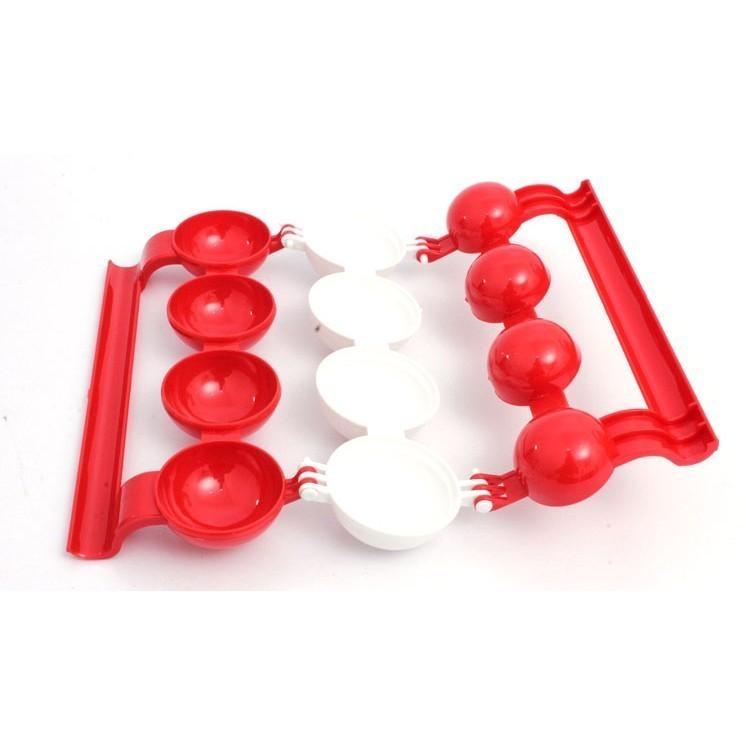 Форма для фаршированых тефтелей Mighty MeatballsОстальные гаджеты<br>А вы знаете, что котлеты и тефтели можно приготовить не только в традиционном виде, но и с удивительной начинкой? Форма для фаршированных тефтелей Mighty Meatballs – это настоящая палочка-выручалочка для хозяек, которые любят баловать свою семью вкусными, оригинальными и красивыми блюдами!<br>