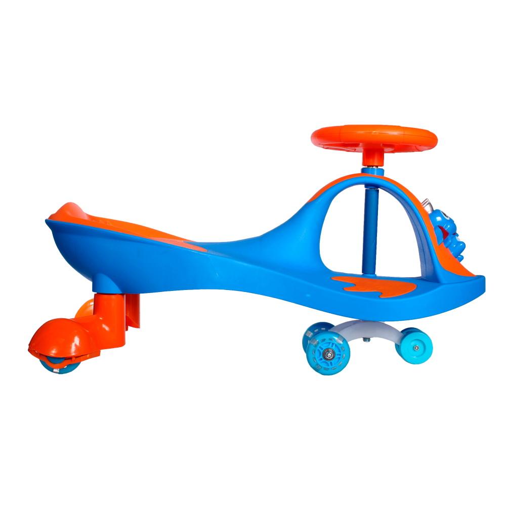 Купить Машинка детская с полиуретановыми колесами - Бибикар-Лягушонок, синий, Подвижные игры