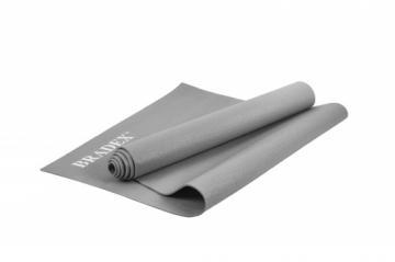 Коврик для йоги 173*61*0,3, серый фото