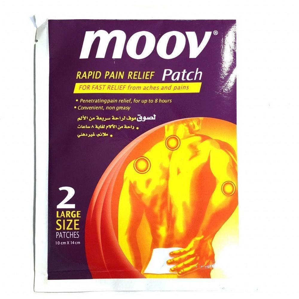 Обезболивающий пластырь от боли Moov