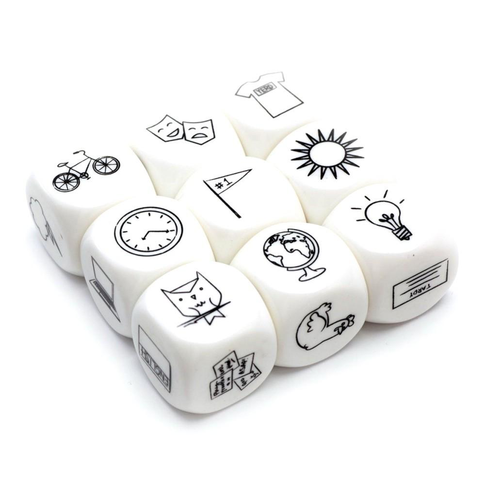 Кубики — Сочини историю