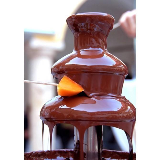 Шоколадный фонтан-фондю от MELEON