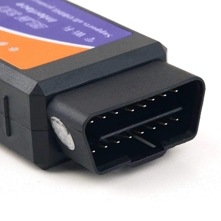 Адаптер ELM327 WiFi - версия 1.5Устройства для диагностики<br>Сканер ошибок и диагност 2 в 1 ELM327 mini Wi-Fi в самой стабильной версии 1.5! Еще больше функциональных возможностей, дополненный список автомобилей, поддержка автомобилей с 1996 года выпуска. Сканирование всех возможных ошибок, исправление в автономном режиме, сохранение истории. Работает по WiFi через любое устройство: смартфон, планшет, ноутбук, ПК на базе iOS, Android, Windows.<br>