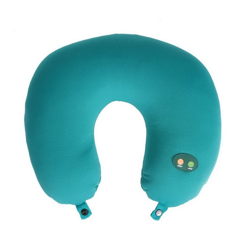 Массажная подушка-подголовник Cervical Massage Pillow
