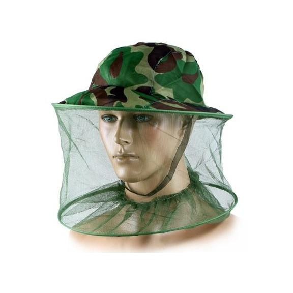 Антимоскитная камуфляжная шляпа — 100% защита