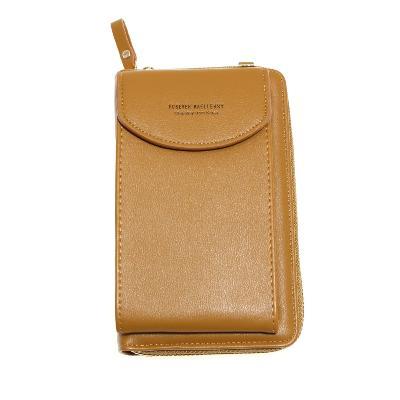 Женский портмоне-сумочка Forever Baellery, жёлтый