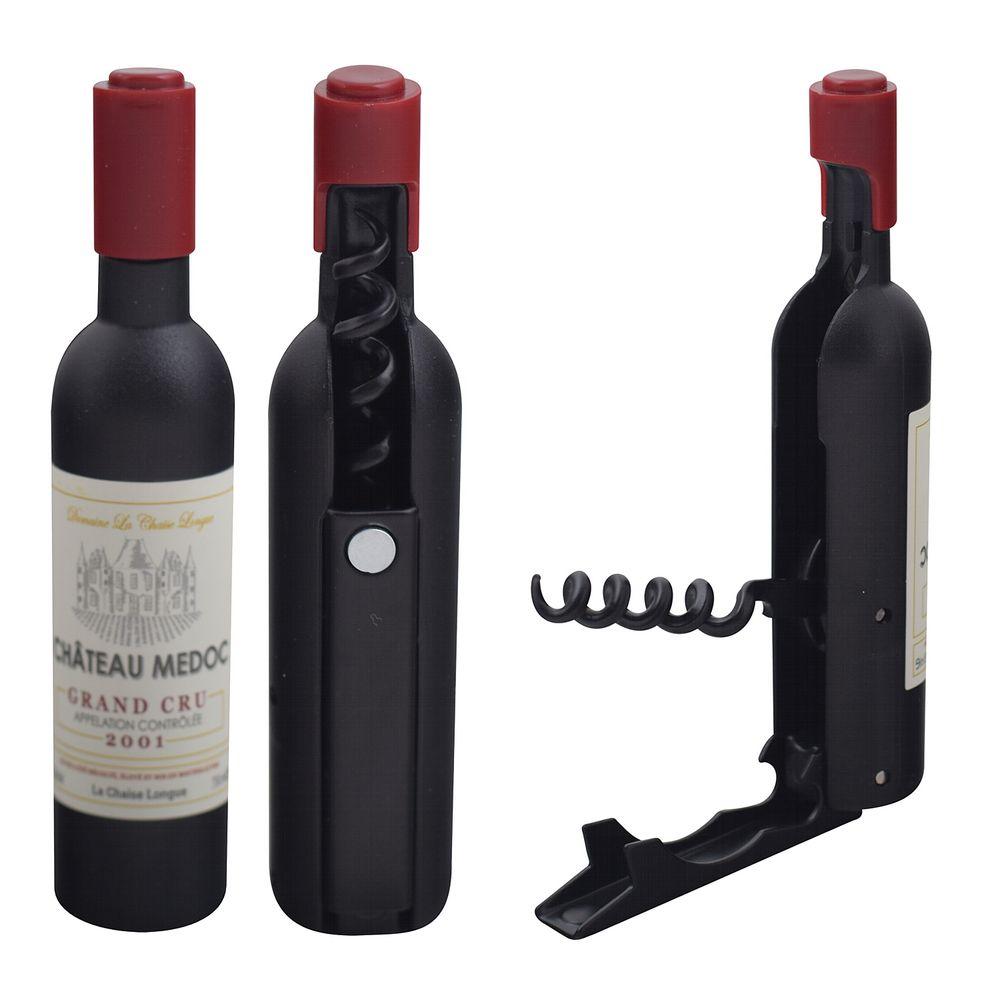 Открывалка-штопор с магнитом - Вино