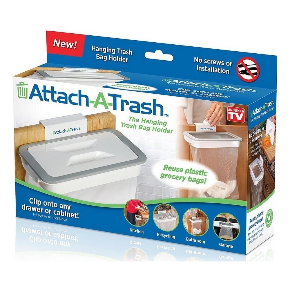 Держатель для мусорных пакетов Attach A Trash