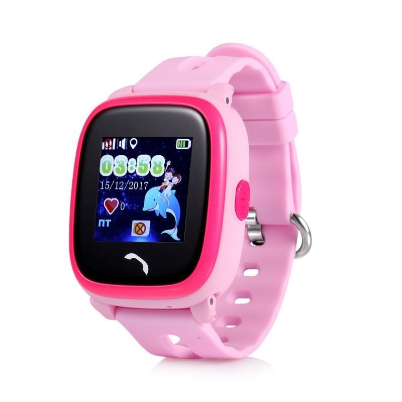 Умные детские часы Smart Baby Watch DF25G (GW400S), розовый от MELEON