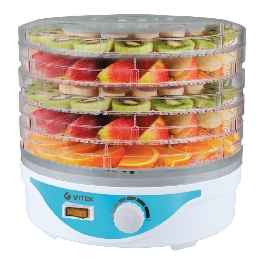 Сушилка для овощей и фруктов Vitek 5055(W), мощность 250 Вт