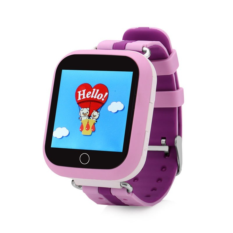 Детские GPS часы Smart Baby Watch GW200S, розовые