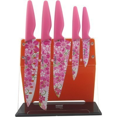 Ножи Bekker с покрытием Xynflon BK-8446Ножи кухонные<br>Иметь на кухне качественные ножи- это большое преимущество для каждого современного хозяина. Ведь именно от этих приспособлений зависит то, насколько качественно и быстро Вы сможете порезать, нашинковать или почистить нужные продукты.<br>