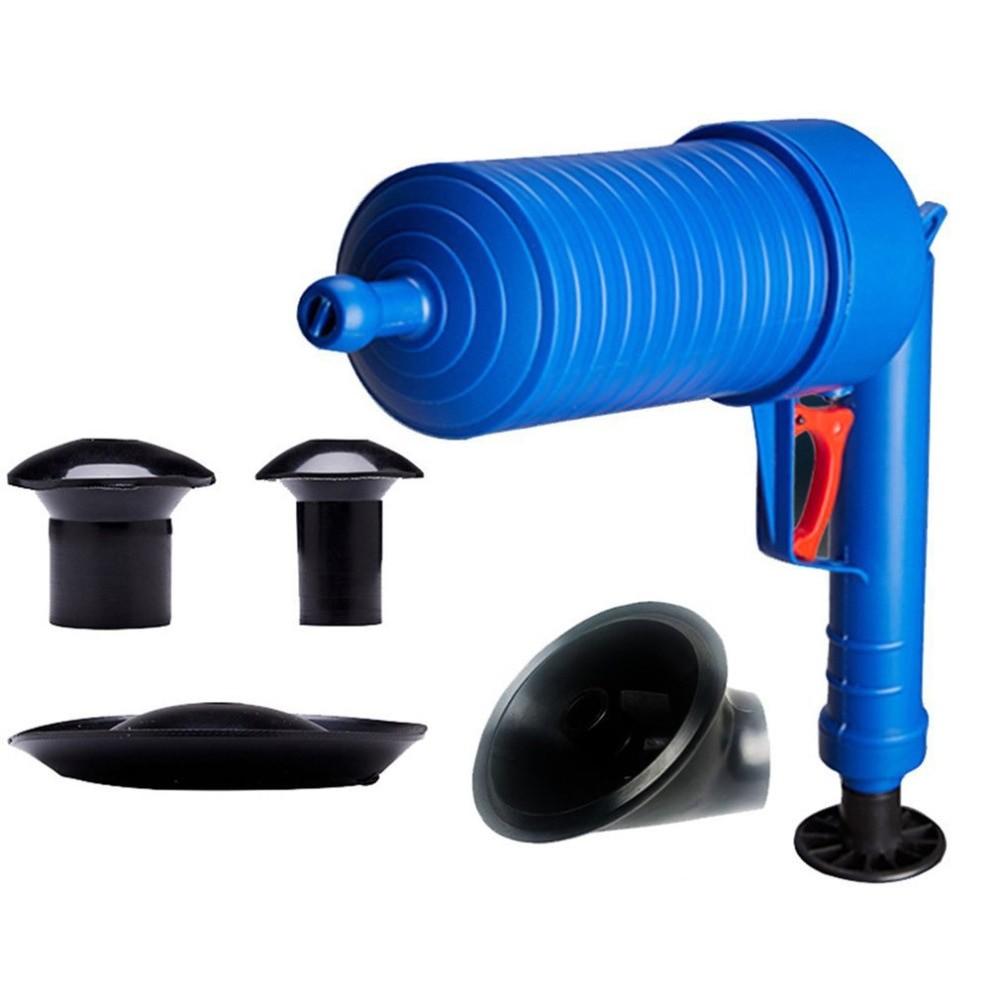 Бластер для прочистки труб раковины, ванны и унитаза фото