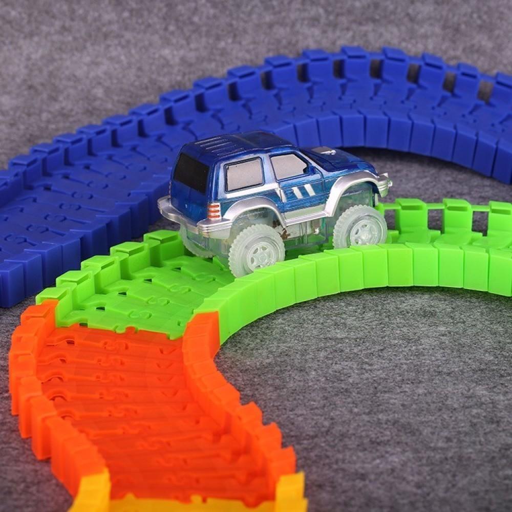 Конструктор Track Car 128 деталей от MELEON