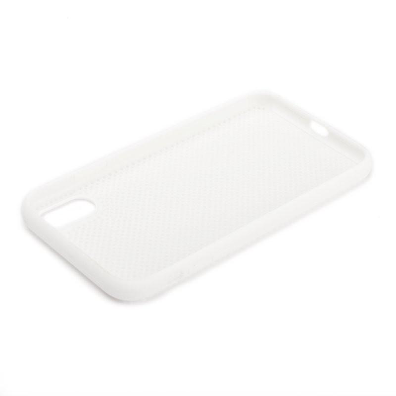 Силиконовый чехол «LP» для iPhone Xr «Silicone Dot Case» (белый/коробка)