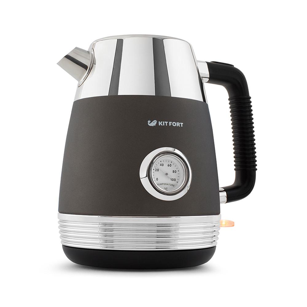 Чайник Kitfort КТ-633-1, графит