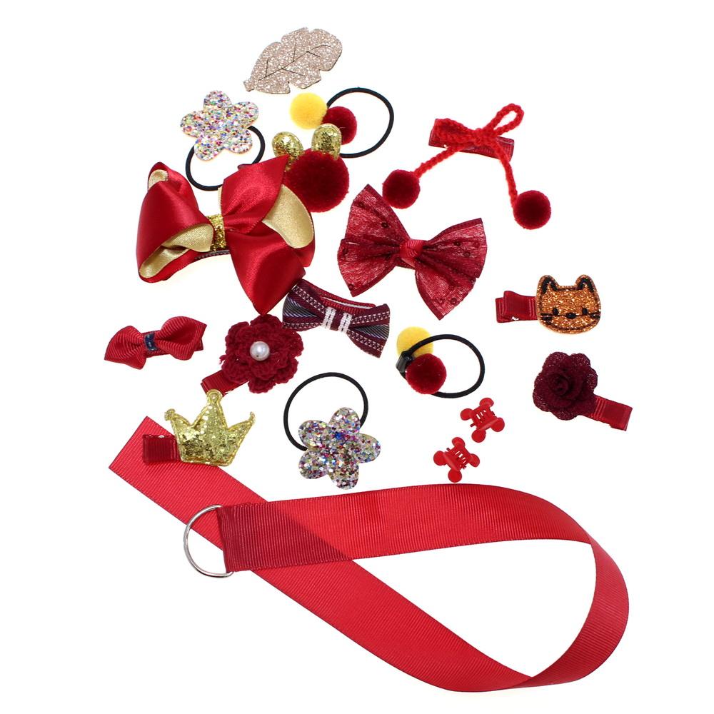 Набор детских заколок в подарочной упаковке, набор 2