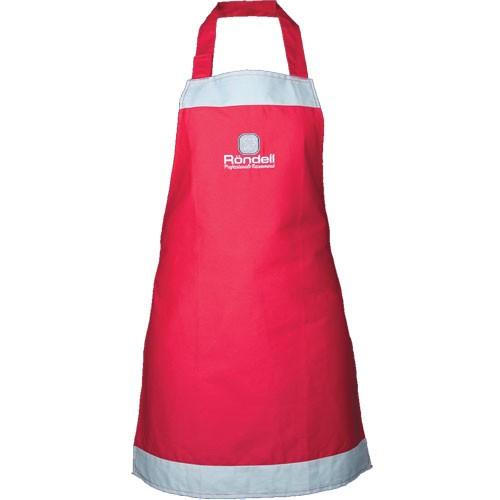 Фартук кухонный х/б RONDELL RDP-802Фартуки<br>Красивый стильный фартук, выполненный в цветах компании Rondell – красном и сером – станет приятным подарком для хозяйки.<br>