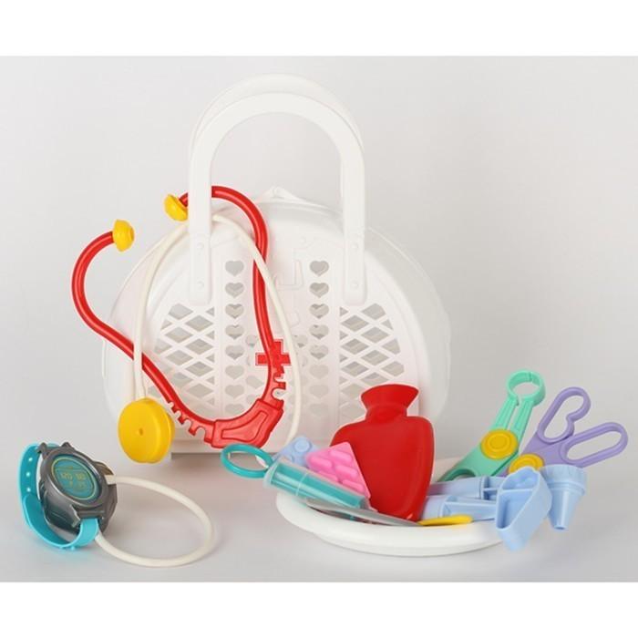 Игровой набор - Доктор, 16 предметов, в сумке