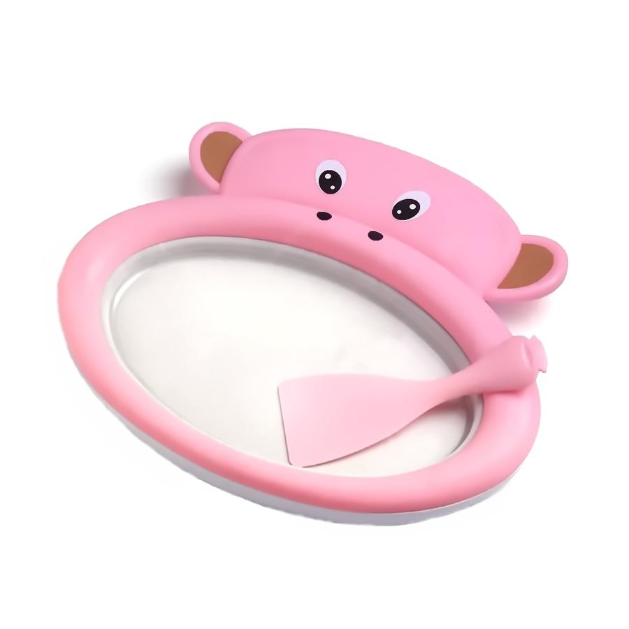 Столик-мороженица Fried Ice Plate, розовый