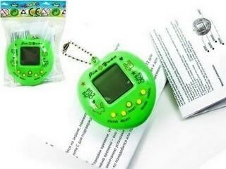 Электронная игра тамагочи — Яблоко, цвета микс