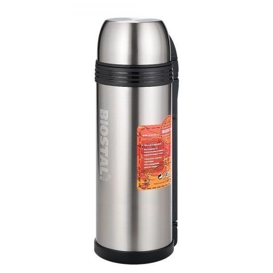 Термос 2,0 л. Biostal-Спорт 2000NGP-PТермосы<br>Если вы часто бываете в разъездах, то знаете, как порой не хватает горячего кофе или чая. Хотите сделать паузу и взбодриться? Вам поможет революционный термос 2,0 л. Biostal-Спорт 2000NGP-P!<br>