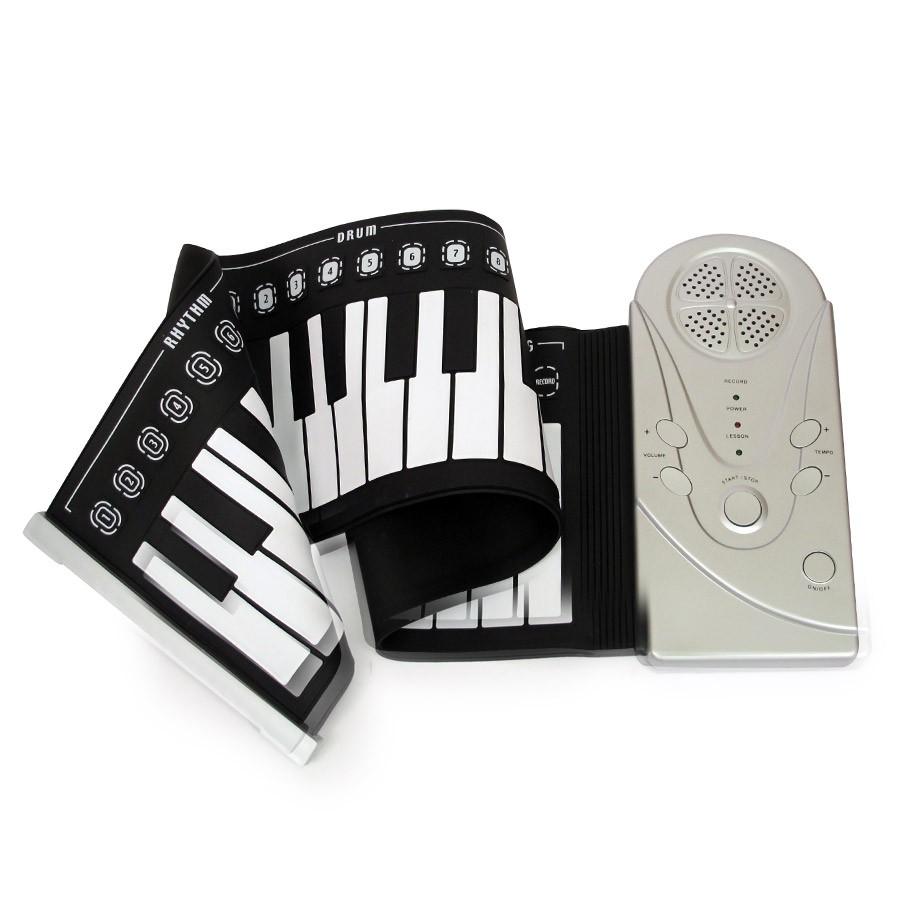 Гибкое пианино синтезаторОстальные игрушки<br>Работа занимает большую часть нашего времени, поэтому каждое свободное мгновение нужно проводить максимально интересно. Но чем же занять себя и близких в такие моменты? Представляем вашему вниманию новое развлекательное устройство - пианино гибкое.<br>