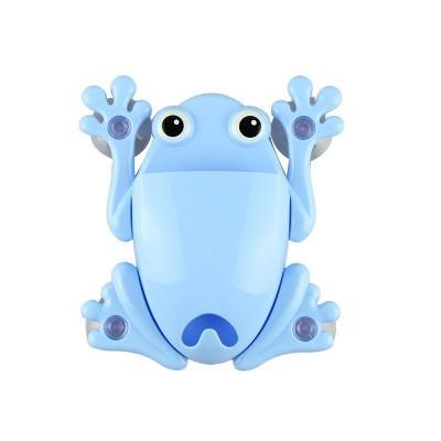 Органайзер для ванной Лягушка, цвет в ассортименте, голубой фото