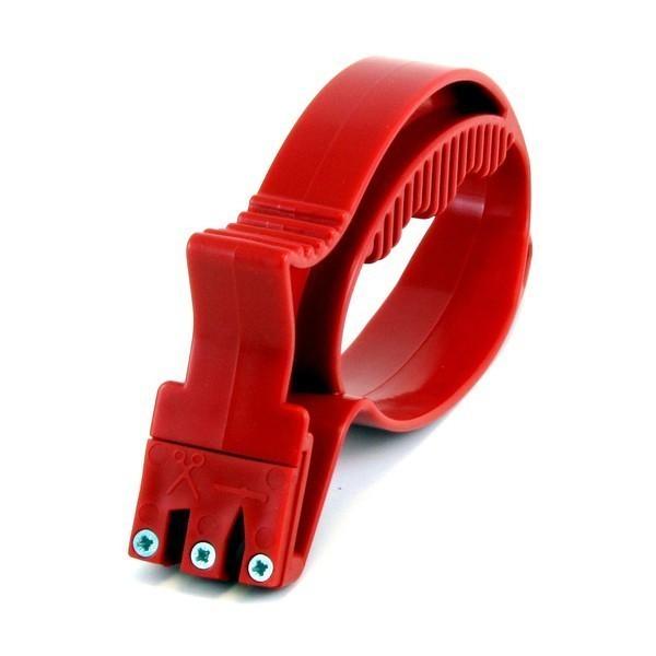 Точилка для ножей и стеклорез - 2 в 1Точилки для ножей<br>Универсальная точилка для кухонных ножей и ножниц из твердосплавных пластин поможет вам вернуть остроту приборам за несколько движений! Особое расположение точильных дисков само направляет лезвие в нужную сторону и затачивает под любым углом. Подходит для заточки маленьких садовых инструментов: тяпка, лопата, топорик. На обратном конце – стеклорез.<br>