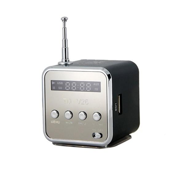 Музыкальный центр, MP3 с TF карты, FM-радио (черный)Bluetooth колонки и MP3 проигрыватели<br>К центру можно подключить флешку или другой источник музыки, а если таковых не окажется поблизости, встроенный fm-приемник не даст заскучать.<br>