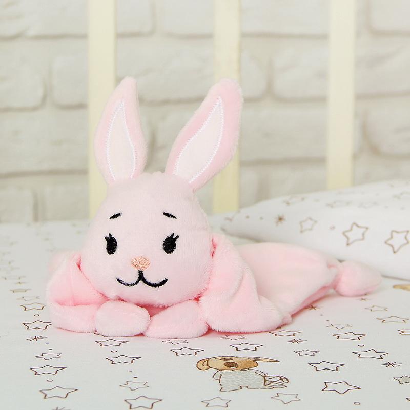Обнимашка-комфортёр для новорожданных, розовый