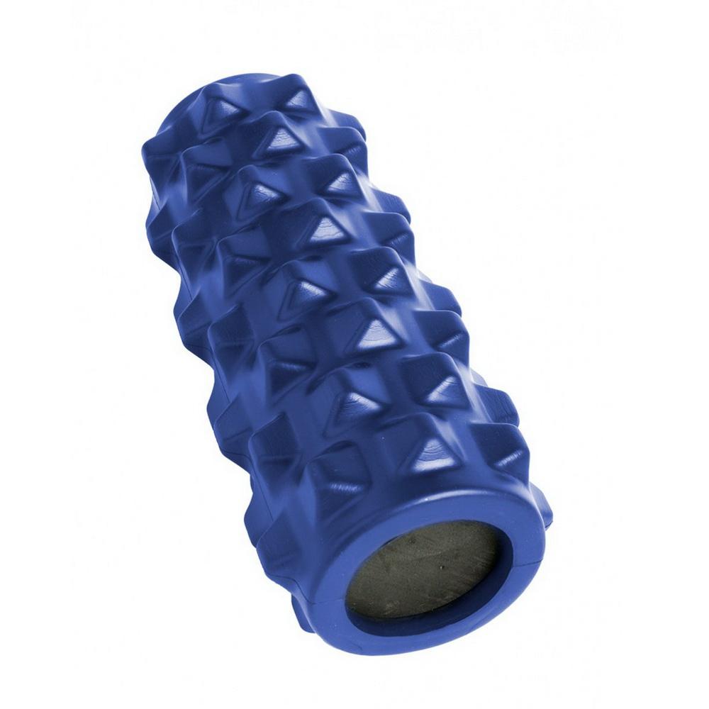 Валик для фитнеса массажный, цвет в ассортименте, синий