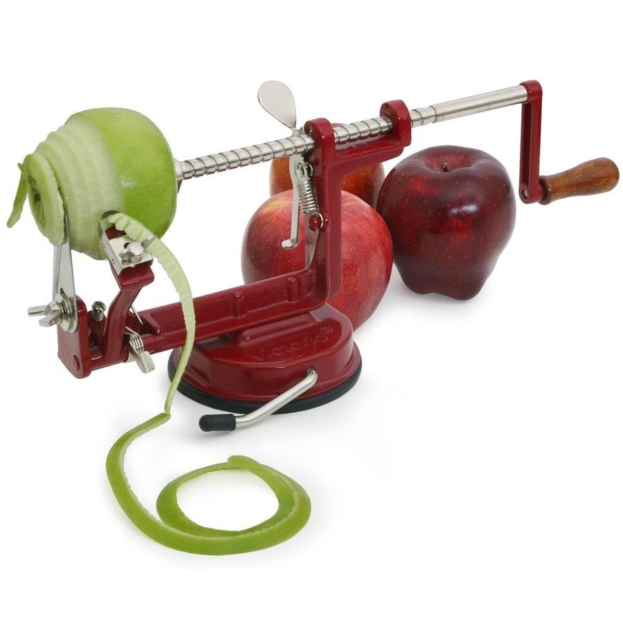 Яблокочистка Apple Peeler Corer SlicerЯблокочистки<br>Часто готовить пироги с яблоками или яблочное пюре? А может в вашем доме живет требовательный малыш, который любит кушать фрукты, но не любит кожуру? Революционная яблокочистка Apple Peeler Corer Slicer выполнит всю работу за вас. А благодаря простоте процедуры, вы точно захотите новых экспериментов на кухне!<br>