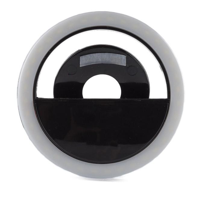 Селфи кольцо - Selfie Ring Light от USB, черное
