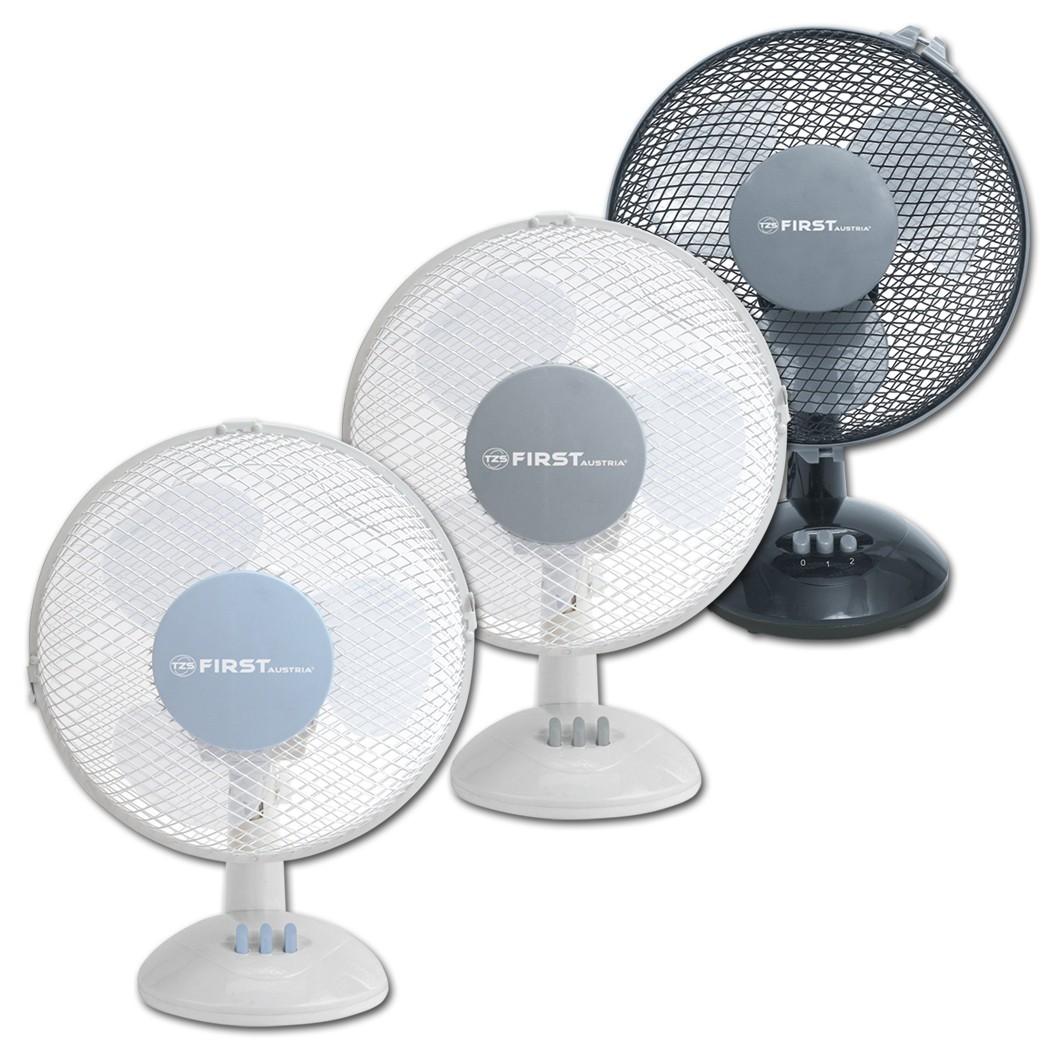 Вентилятор настольный FIRST 5550-GRВентиляторы<br>Настольный вентилятор First FA-5550 - подходящий вариант для использования в квартире.<br>