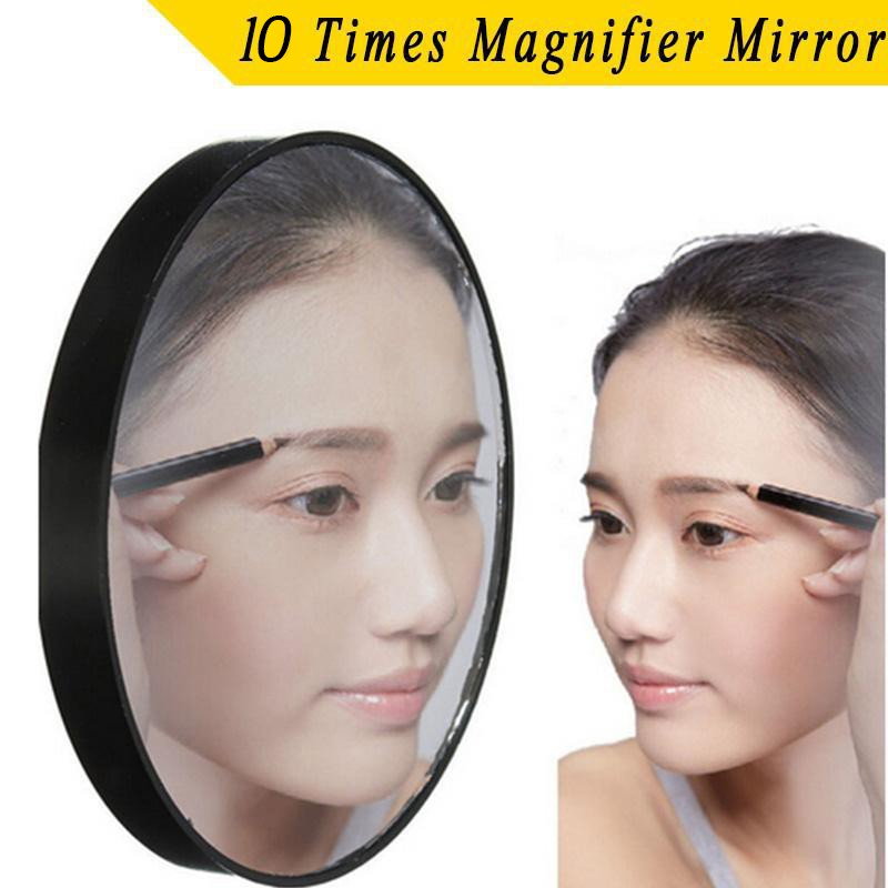 Зеркало для макияжа на присосках, увелич. х10 от MELEON