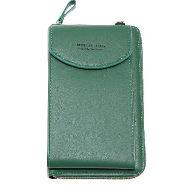 Женский портмоне-сумочка Forever Baellery, зелёный фото