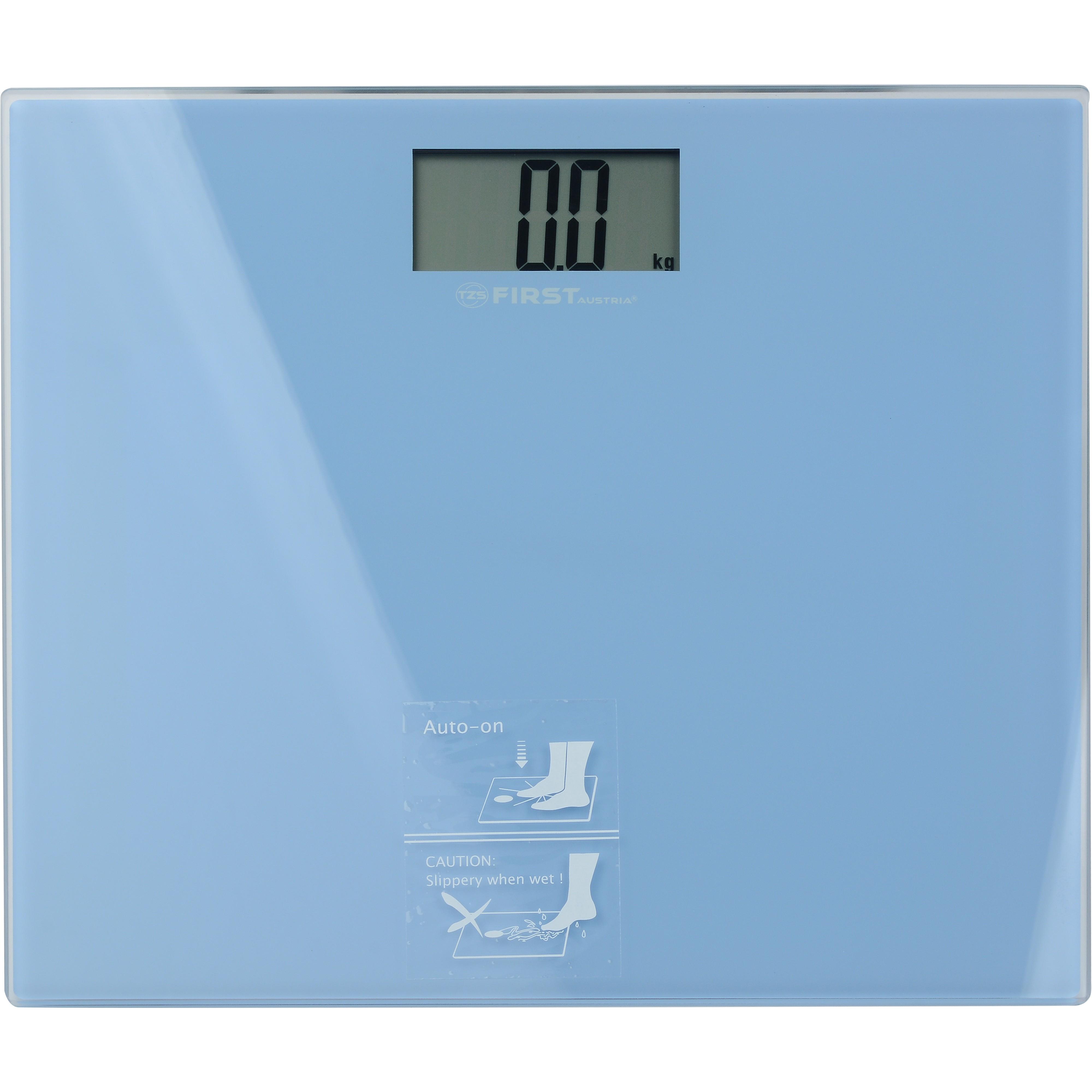 Весы напольные FIRST 8015-2-BLНапольные весы<br>Если ежедневное взвешивание является для вас обязательным утренним ритуалом вам необходимо приобрести точные напольные весы, которые помогут вам контролировать вес и заботится о хорошей физической форме. Используя современную модель напольных весов First FA-8015-2 вы сможете в комфортных домашних условиях отследить изменения в весе с точностью до 100 грамм.<br>