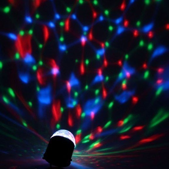 Диско-лампа Зеркальный шар, 8 см от MELEON